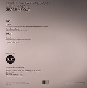 DOWNTOWN PARTY NETWORK feat EGLE SIRVYDY - Space Me Out