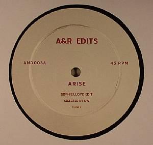 LLOYD, Sophie/FAME - A&R Edits Vol 3: Arise