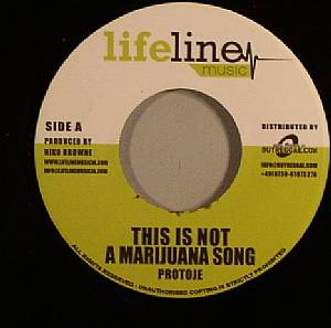 PROTOJE - This Is Not A Marijuana Song (Rockfort Rock Riddim)