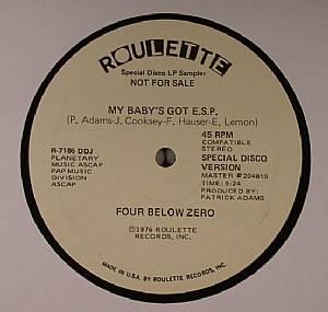 FOUR BELOW ZERO - My Baby Got ESP