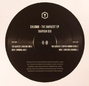 SHLOMO - The Harvest EP