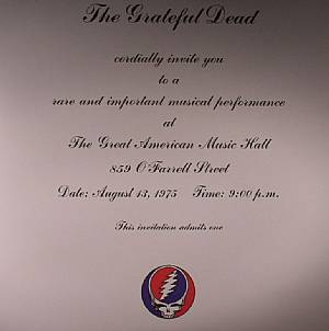 GRATEFUL DEAD, The - One From The Vault (remastered)
