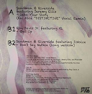 SANDMAN & RIVERSIDE feat JEREMY ELLIS/ROY DAVIS JR feat XL - Playing In The Sand Box Vol 1 Sampler