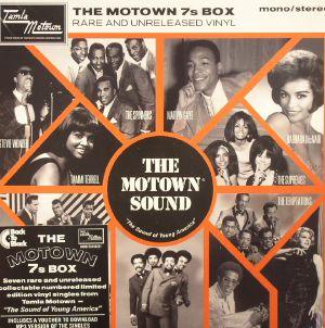 VARIOUS - The Motown 7s Box: Rare & Unreleased Vinyl