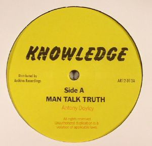 KNOWLEDGE - Man Talk Truth (reissue)