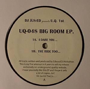 DJ JUS ED - Big Room EP