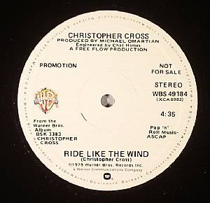 CROSS, Christopher - Ride Like The Wind