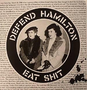 AT WHAT COST/BORN WRONG/DEBT'D/DISMANTLE/LAID TO REST/LEFT FOR DEAD/PICK YOUR SIDE/SOCIAL DIVORCE - Defend Hamilton: Eat Shit