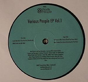 BALO, Louie/MIKKI FUNK/TUFF JAM/MIKE SHARON/MARC COTTERELL - Various People EP Vol 1