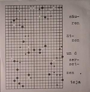 SCHMITZ, Teja - Sauren Atzen Und Zersetzen