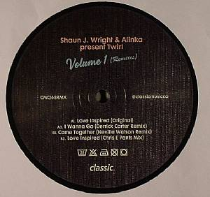 WRIGHT, Shaun J/ALINKA - Twirl Volume 1 (remixes)
