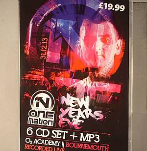 HAZARD/HARRY SHOTTA SHOW/CRISSY CRISS/SDC/PASCO/MAJISTRATE/LOGAN D/SUB ZERO/TYKE/VARIOUS - One Nation: New Years Eve 2013 Recorded Live In O2 Academy Bournemouth