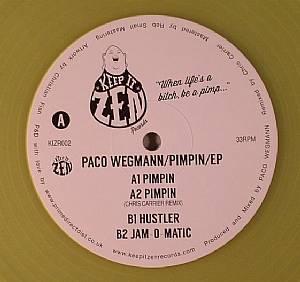 WEGMANN, Paco - Pimpin EP