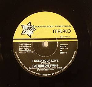 PATTERSON TWINS/RICHARD CAITON - I Need Your Love (stereo) (resisue)