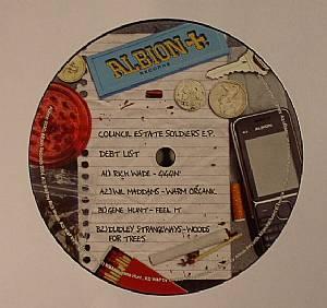 WADE, Rick/WIL MADDAMS/GENE HUNT/DUDLEY STRANGEWAYS - Council Estate Soldiers EP