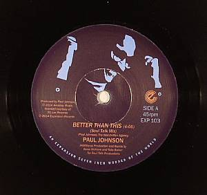 JOHNSON, Paul - Better Than This (remixes)