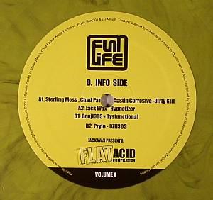 STERLING MOSS/CHAD PARKER/AUSTIN CORROSIVE/JACK WAX/BENJI303/PZYLO - Jack Wax Presents: Flat Acid Compilation Volume 1
