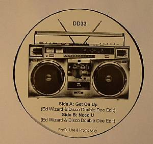 ED WIZARD/DISCO DOUBLE DEE - Get On Up (edit)
