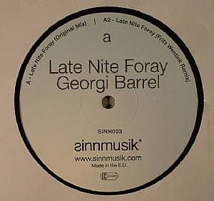 BARREL, Georgi - Late Nite Foray