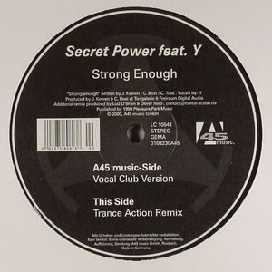 SECRET POWER feat Y - Strong Enough
