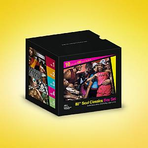 VARIOUS - 80's Soul Classics Box Set Vol 1-5: Sweet Soul Vibes & Funky Club Tunes