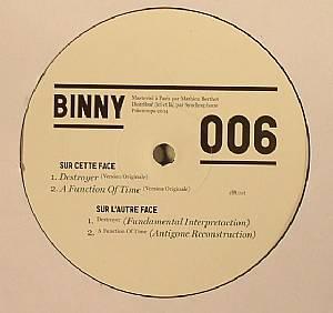 BINNY - Nycthemere EP