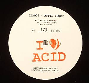 YUSUF, Affie - I Love Acid 002