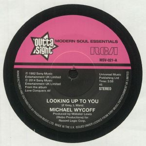 WYCOFF, Michael - Looking Up To You (reissue)