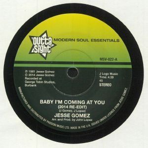 GOMEZ, Jesse/SWB - Baby I'm Coming At You