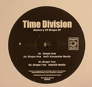 TIME DIVISION - Memory Of Shape EP