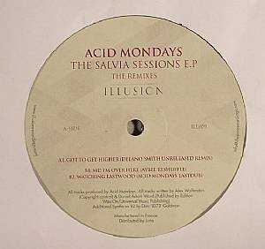 ACID MONDAYS - Salvia Sessions EP (The Remixes)