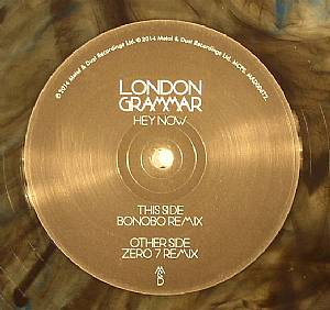 LONDON GRAMMAR - Hey Now (Bonobo & Zero 7 Remixes) (Record Store Day 2014)