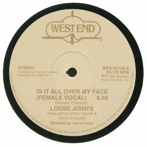 LOOSE JOINTS - Is It All Over My Face (remastered)