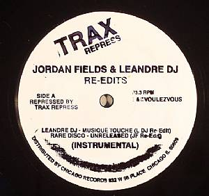 LEANDRE DJ/RARE DISCO/DISCO DUB - Re Edits/Larry Levan Influenced Disco Dubs