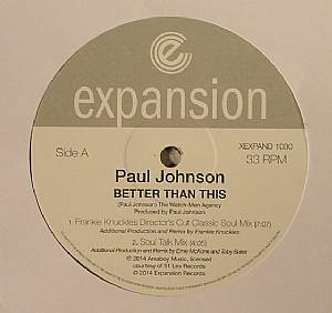 JOHNSON, Paul - Better Than This