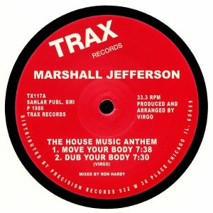 JEFFERSON, Marshall - The House Music Anthem