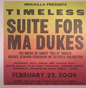 ATWOOD FERGUSON, Miguel - Mochilla Presents Timeless Suite For Ma Dukes: The Music Of James J Dilla Yancey