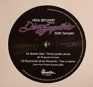 QUEEN ZAZA/RAYMONDE ET LES MOUTARDS/NEW PARADISE/ARK - Vidal Benjamin Presente Disco Sympathie Edith Sampler