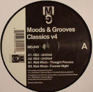 KDJ aka KENNY DIXON JR aka MOODYMANN/RICK WADE - Moods & Grooves Classics V4