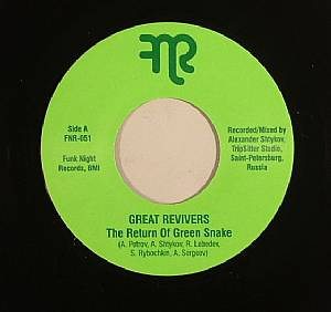 GREAT REVIVERS - The Return Of Green Snake