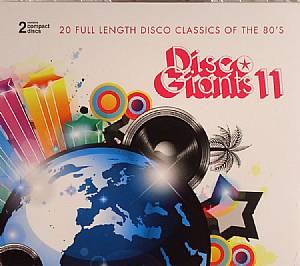 VARIOUS - Disco Giants Volume 11: 20 Full Length Disco Classics Of The 80's