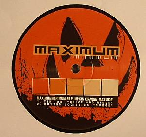 TIK TOK/RHYTHM LOGISTICS/AP/CHRIS LIBERATOR/GUY McAFFER - Maximum Minimum 59 Pumpkin Orange