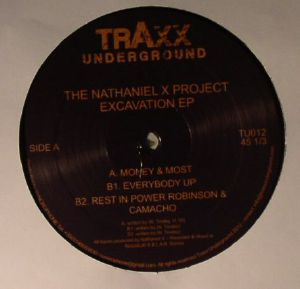 NATHANIEL X PROJECT, The - Excavation EP