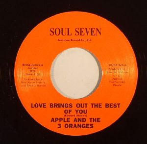 APPLE & THE 3 ORANGES - Love Brings Out The Best Of You