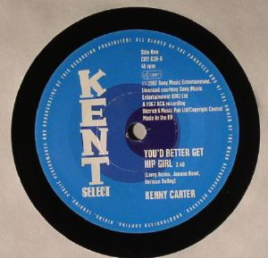 CARTER, Kenny/THE DYNAMICS - You'd Better Get Hip Girl
