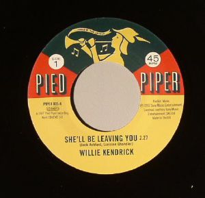 KENDRICK, Willie/SHARON SCOTT - She'll Be Leaving You