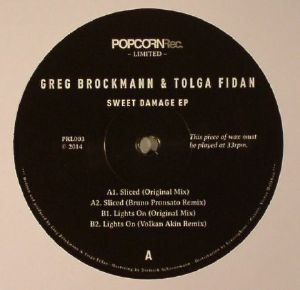 BROCKMANN, Greg/TOLGA FIDAN - Sweet Damage EP