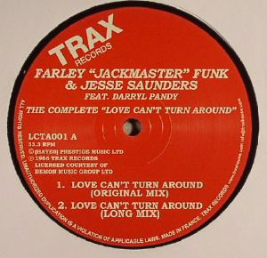 JACKMASTER FUNK, Farley/JESSE SAUNDERS feat DARRYL PANDY - The Complete: Love Can't Turn Around