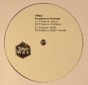 PRESENCE/PERSONA - TW001