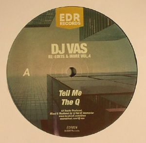 DJ VAS - Re Edits & More Vol 4